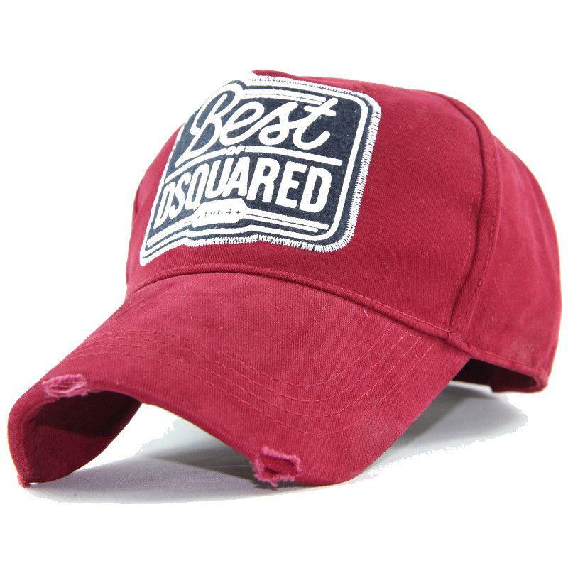 b9c0145f8b9 Curved Ball Cap High Quality Canvas Retro Baseball Caps Adjustable ...