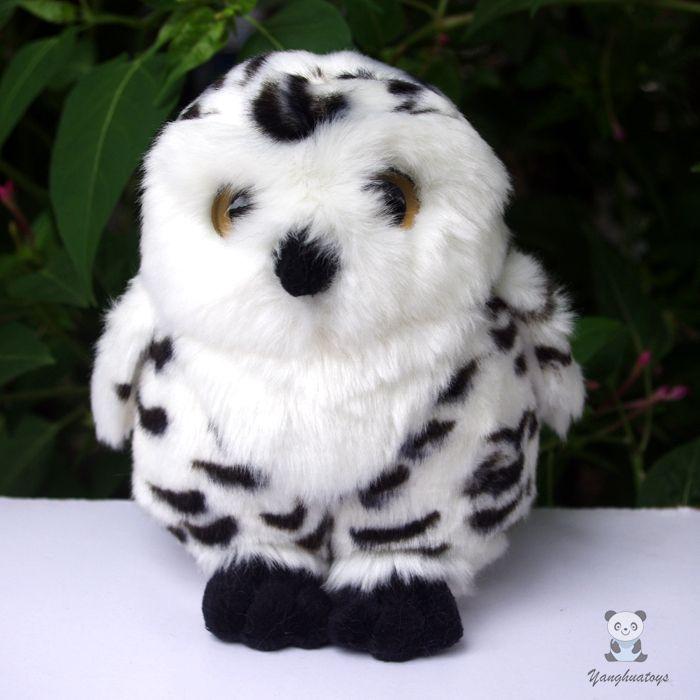 2019 Stuffed Animal Toys Owl Doll Kids Gift Real Life Plush Toy