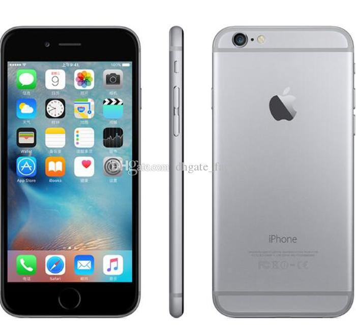 Original 4.7inch Apple iPhone 6 Plus iphone6 IOS Phone 8.0 MP Camera Without Touch ID 4G LTE Unlocked Refurbished Cell Phones DHL Free