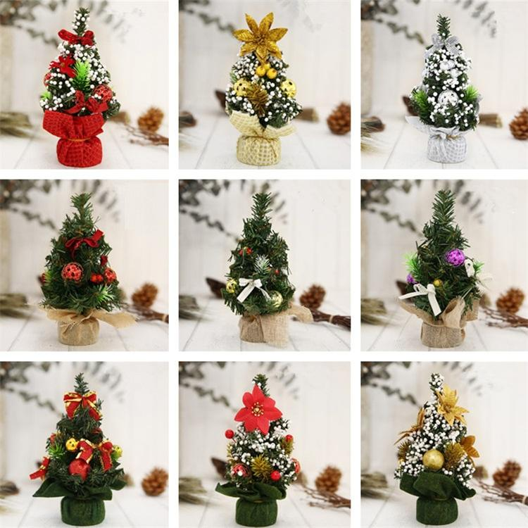 new style christmas decoration supplies christmas trees a small pine tree mini christmas tree decoration t5i030 wooden christmas ornaments xmas decor from