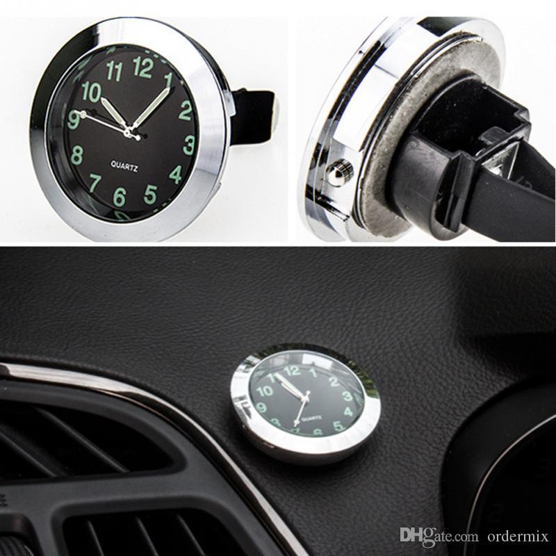 be3b41691791 Compre Reloj De Cuarzo Del Automóvil Decoración Del Coche Reloj ...