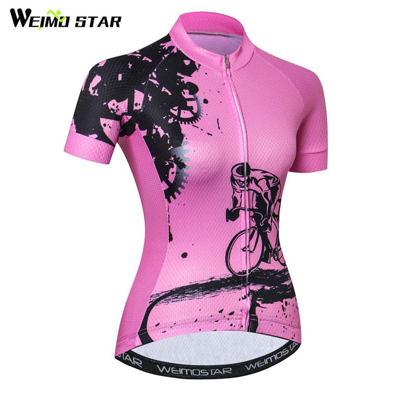 Weimostar Bike Team Cycling Jersey Women Racing Cycling Clothing Summer  Bicycle Clothes Breathable MTB Bike Jersey Ropa Ciclismo Best Shirts For  Men T ... 8f81c9812