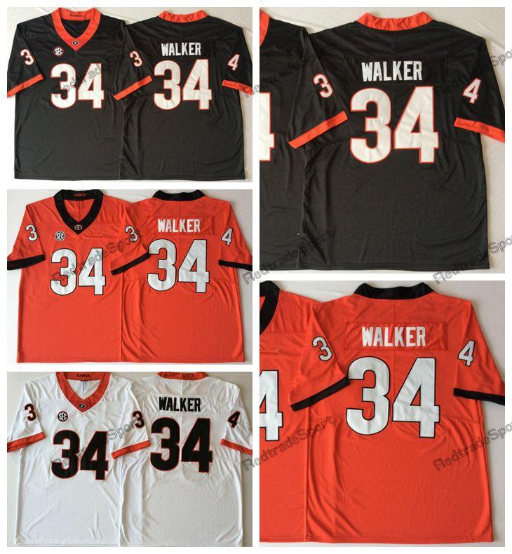 b048d1622 2019 2019 Mens Georgia Bulldogs Herchel Walker College Football Jerseys  Cheap White Black Red #34 Herchel Walker Stitched Football Shirts From  Redtradesport ...