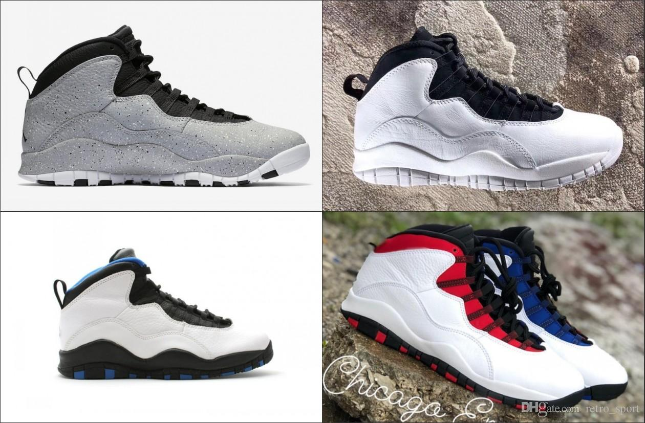 Jordan Retro Tinker 10 Men Basketball Shoes White Man Sport Sneakers Westbrook Chicago Blue Outdoor Shoes New Arrival Latest Fashion Simulators