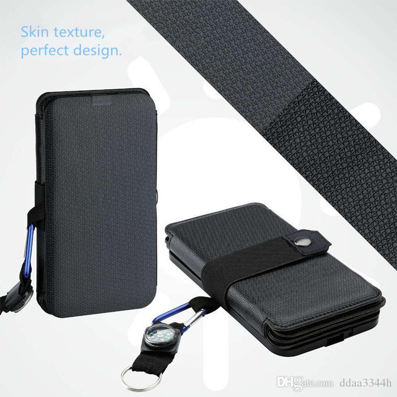 10W 태양 에너지 태양 광 충전기 직접 충전 배터리는 전자 제품의 전원 은행 이동식 태양 광 충전기 케이스 태양 전지 패널 접이식