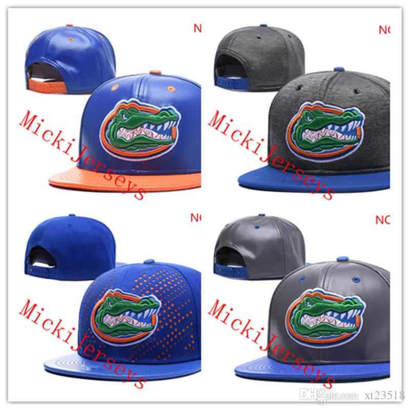 brand new dcaba 75b0c 2019 NCAA Florida Gators Snapback Caps Black Red Grey Royal Blue White Gold Florida  Gators Knit Hat Beanies Caps One Size Fit All From Xt23518, ...