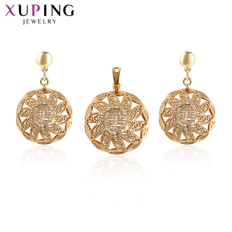 ff755028b 11.11 Xuping Luxury Rural Style Jewelry Sets Gold Color Plated Popular Design  Jewelry for Women Wedding Thanksgiving Gift 64792 Online with $38.58/Piece  on ...