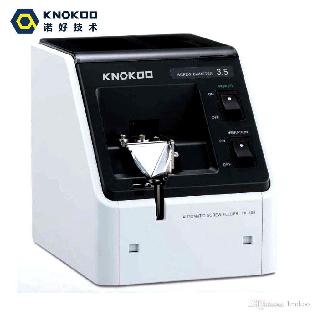 Подсказки knokoo высокого качества ФК-514 регулируемый винт питания машина/ винт организовать систему ФК-550 М1.0 - м3.5 винт