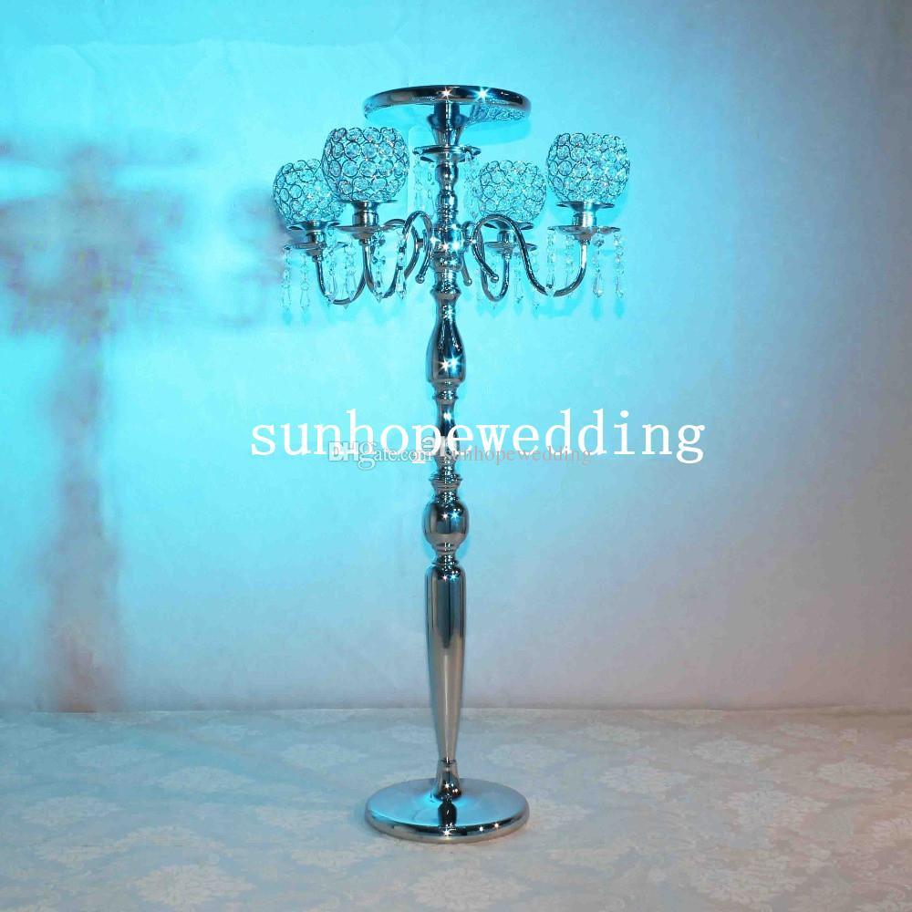 Wholesale Crystal Acrylic Wedding Decoration Crystal Pillars From