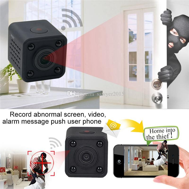 Mini Camera Wifi IP Camera 1080P HD Motion Detection Sports DV DVR Digital Video Voice Recorder Wireless Home security Camcorder HDQ9