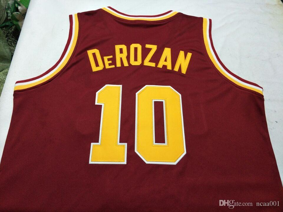 62d86aa03f3 2019 Men Usc Trojans Demar DeRozan College Jersey Size S 4XL Or Custom Any  Name Or Number Jersey From Ncaa001