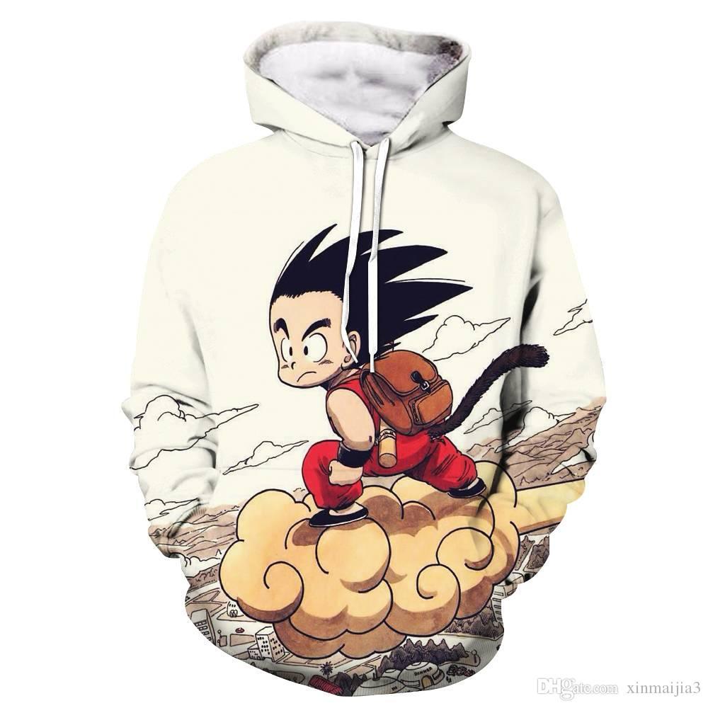 032aa1717dcee Acheter Anime Dragon Ball Z Poche Sweat À Capuche Mignon Enfant Goku 3D  Hoodies Pulls Hommes Garçon À Manches Longues Survêtement De $18.9 Du  Xinmaijia3 ...