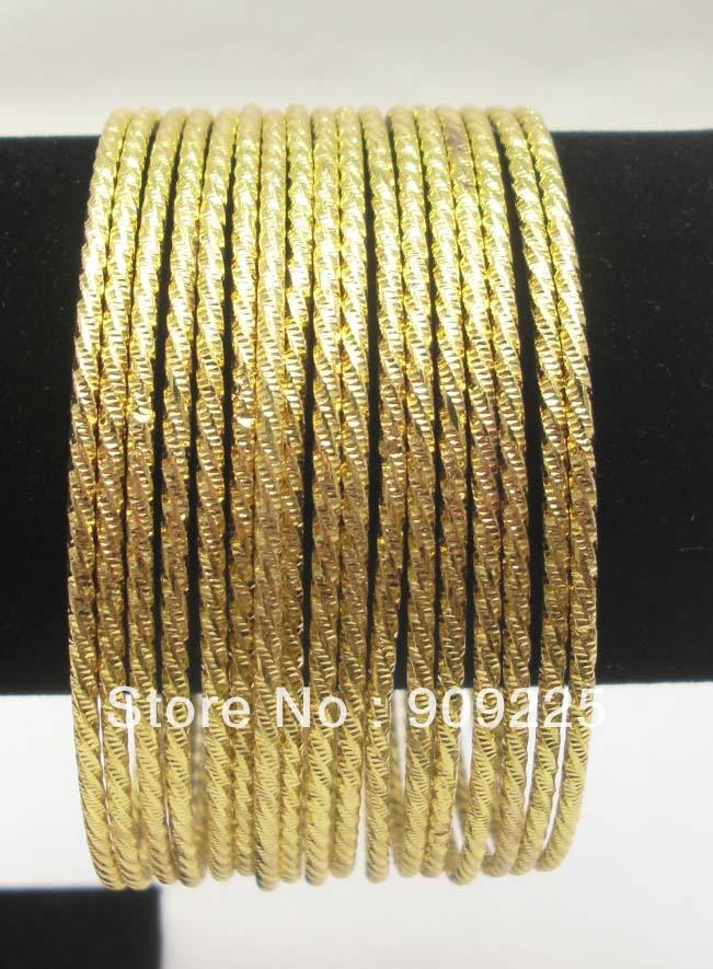 Whole Saleladymee Bracelet Bangles Indian Jewelry Gold Metal