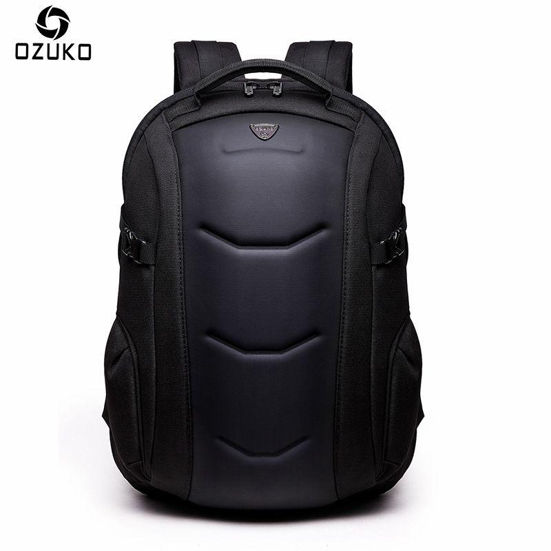 294aac64ec250 Großhandel 2018 Ozuko Mode Männer Rucksack Lässig Diebstahl 15