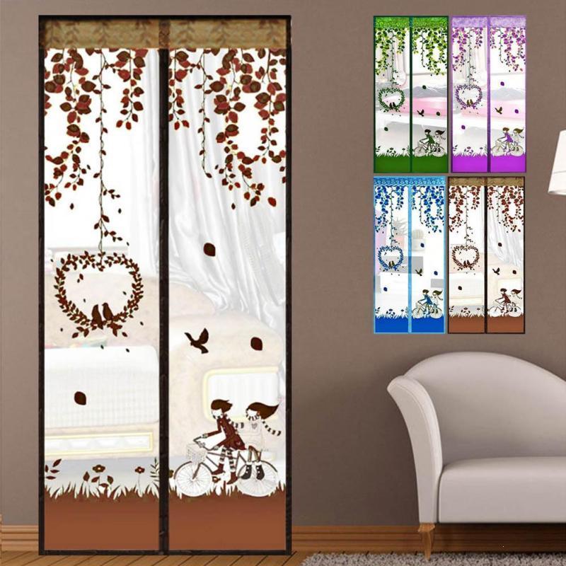 Bedroom Door Window Mesh Screen Living Room Mosquito Net Curtain Magnets Door  Mesh Insect Sandfly Netting S/L L50 Mosquito Netting Fabric Mosquito  Netting ...
