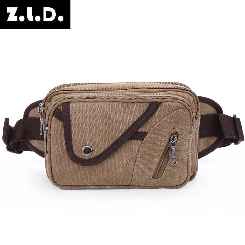 54c6f9570481 Waist Pack For Men High Quality Canvas Vintage Small Belt Bag Fanny Pack  Waist Leg Bag For Male Multifunction Trave Bags 9159-27
