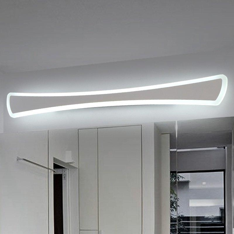 Compre Moderno LED Luces De Espejo Lámpara De Pared Cuarto De Baño ...