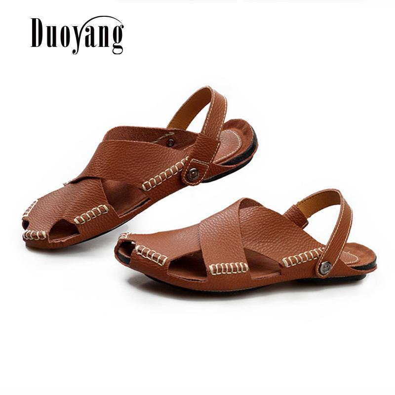 67d693168e5eb Fashion Men s Sandals 2018 New Hot Summer Breathable Men s Beach ...