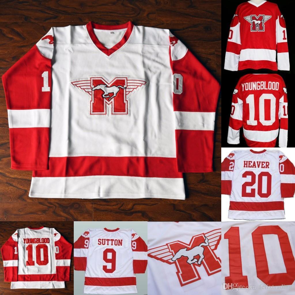 2019 Youngblood Movie Hockey Jersey 9 DerekSutton 20 Keanu Reeves Hockey  Jerseys Stitched Movie Jersey From Felixtrading a1cb14d875