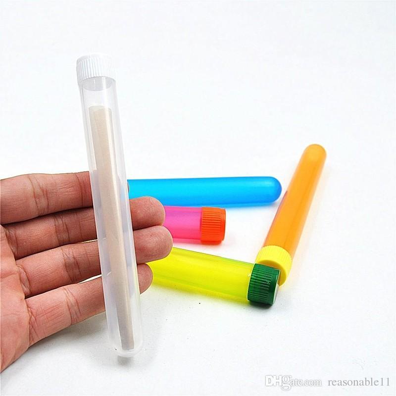 Doob Cones Tubo De Armazenamento De Cigarros Caixa de Comprimidos Hermético Tubo de Ensaio Caixa De Comprimidos À Prova D 'Água para Rolling Papers