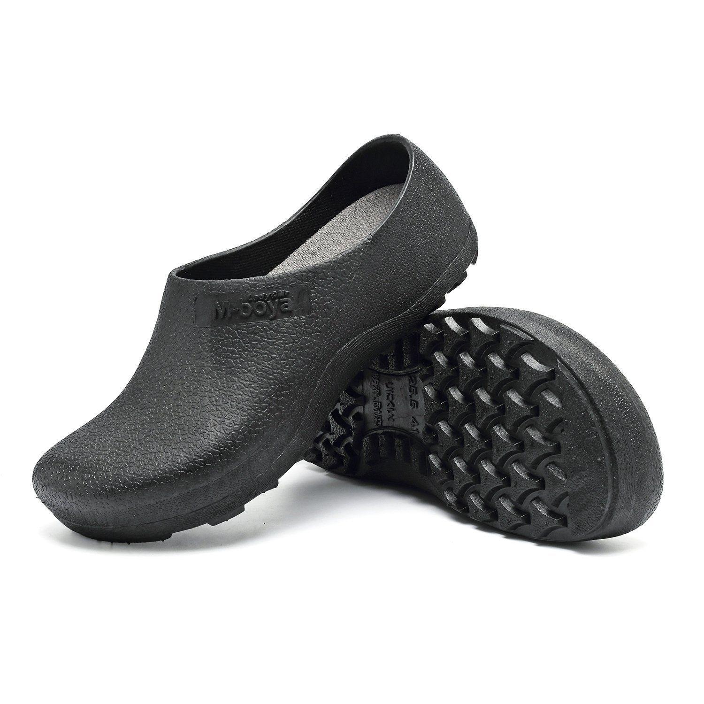 Compre zapatos de seguridad antideslizantes para hombres - Zapatos antideslizantes cocina ...