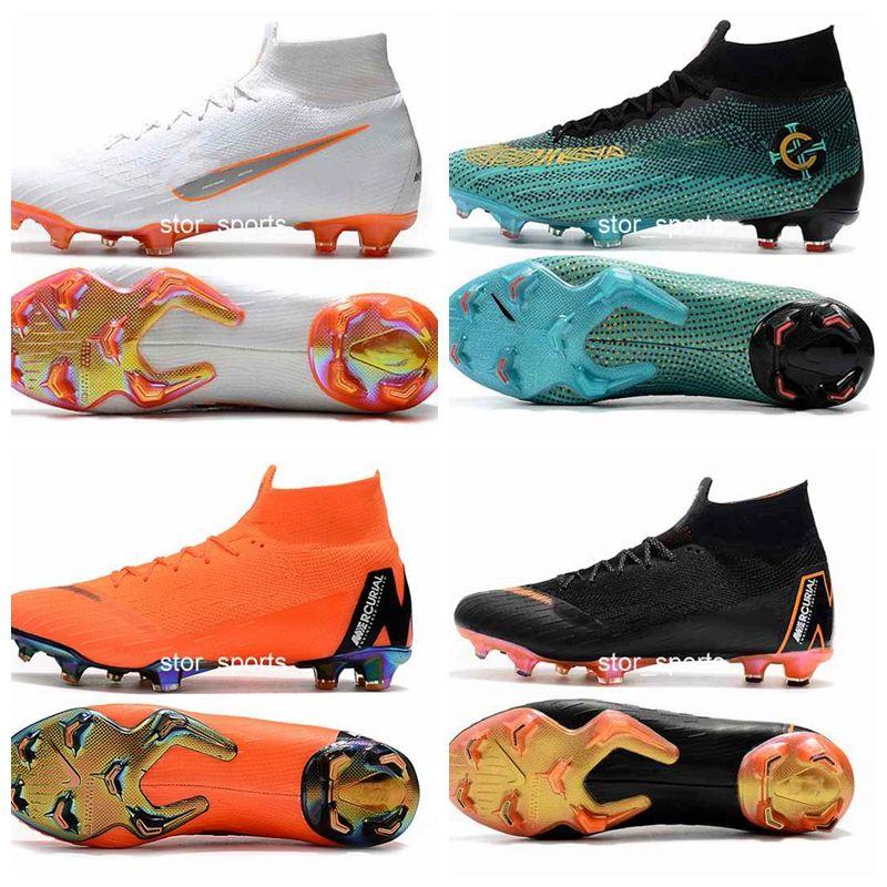 Compre 2018 Chaussures Nike Mercurial Superfly VI 360 Elite FG Fly Knit  Niños Calzado De Fútbol Para Hombres Cr7 Chaussures Crampones De Fútbol  Botas De ... f1a91659abbf6