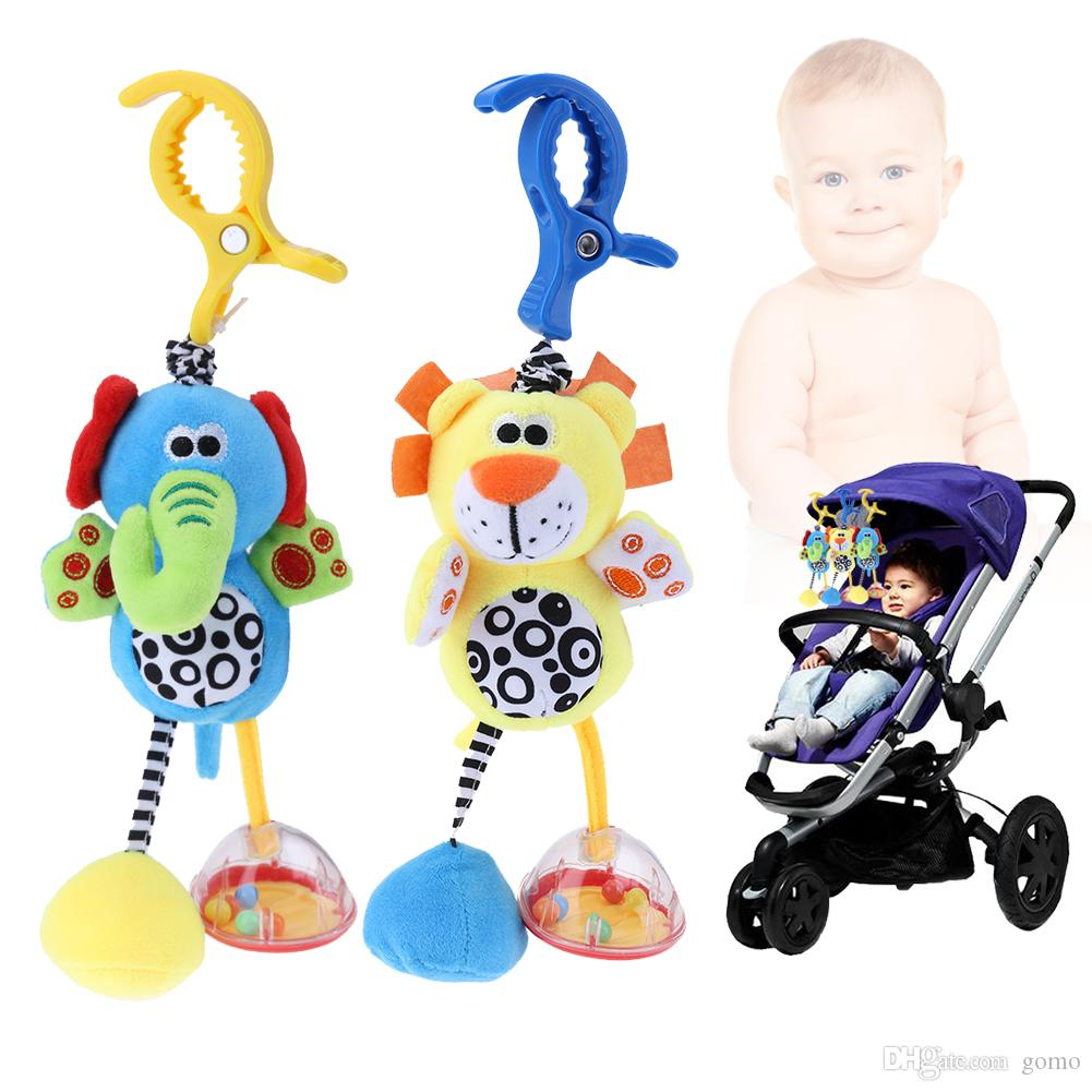 Toys For Baby Developmental Baby Toys 100% True Animal Clip Hanging Soft Plush Toys