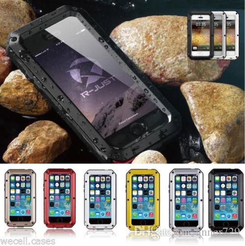 reputable site 9c00a 9659b Waterproof Case For Samsung Galaxy S3 S4 S5 S6 S7 edge Note 4 5 Shockproof  Power Aluminum Gorilla Glass Protect Phone Cover