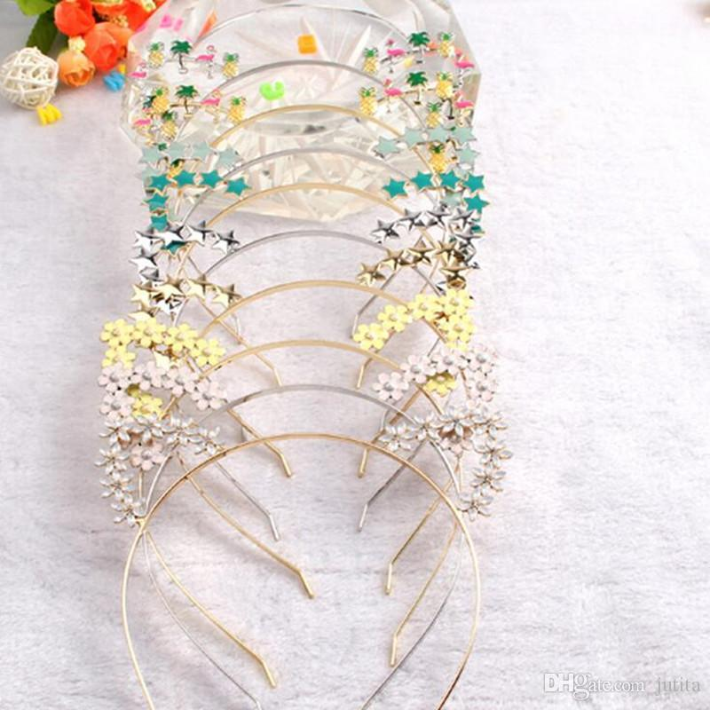kids cartoon headband flower cat ear head hoop for kids girls headwear decoration birthday new year birthday party themes birthday party themes for adults