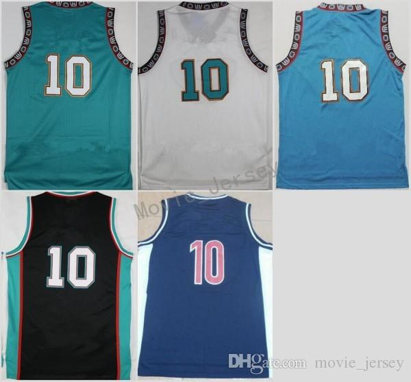 2018 Hot Sale 10 Michael Mike Bibby Jersey Men Throwback Stitched Mike  Bibby Basketball Jerseys Sports Breathable Vintage Quality From  Movie_jersey, ...
