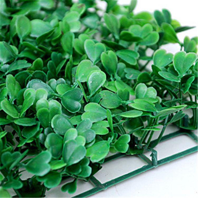 Nouveau 25 * 25 cm Gazon artificiel Plantes Gazon artificiel Pelouses Jardin Décoration Maison Ornements En Plastique Gazon T2I131