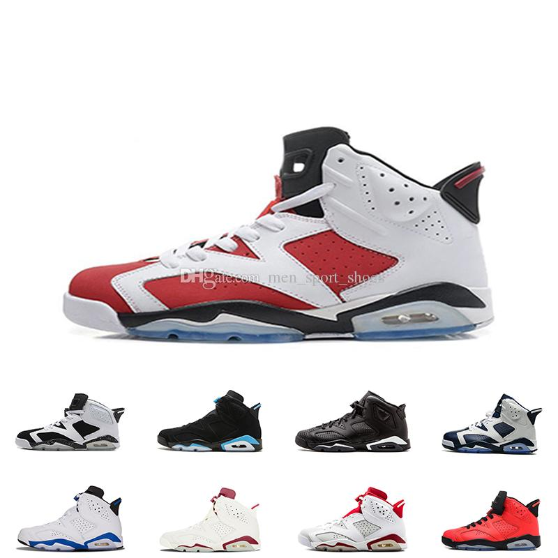 d06d7f8a9b66 6s Mens Basketball Shoes 6 Black Cat Infrared Sports Blue Maroon ...