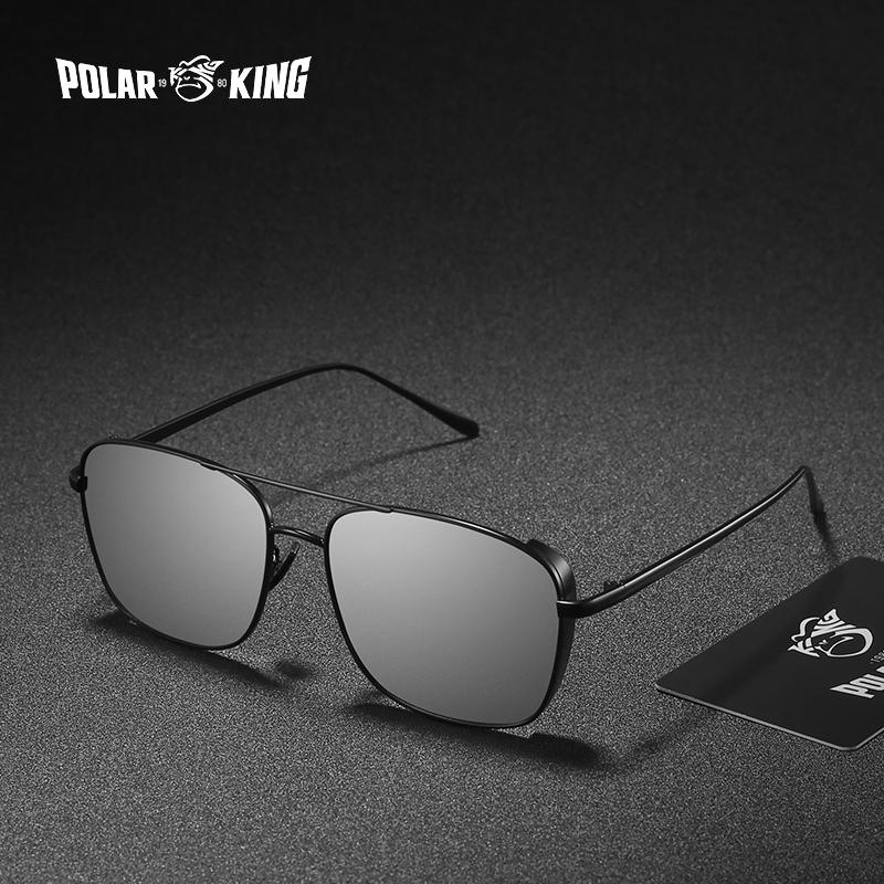 e1f22dd27e POLARKING Brand Stylish Steampunk Metal Frame Polarized Sunglasses ...