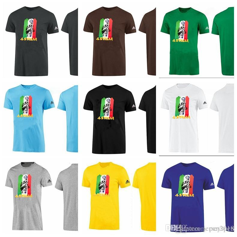 d13cd8734 2019 New Comfortable World Cup Football Printing Italy Team ASTELLE Quick  Dry Breathable Circular Collar Pure Color Sports T Shirt From Jerseyspen,  ...