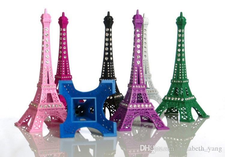 13 CM New Household Metal Crafts Bronze Paris Torre Eiffel Decor Figurine Statue Vintage Alloy Model Eiffel Tower Decoration