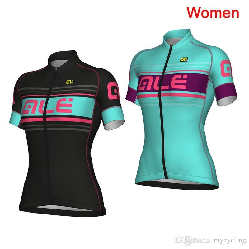 2018 Newest ALE Women Summer Short Sleeve Cycling Jersey Bike ... db789b3d2