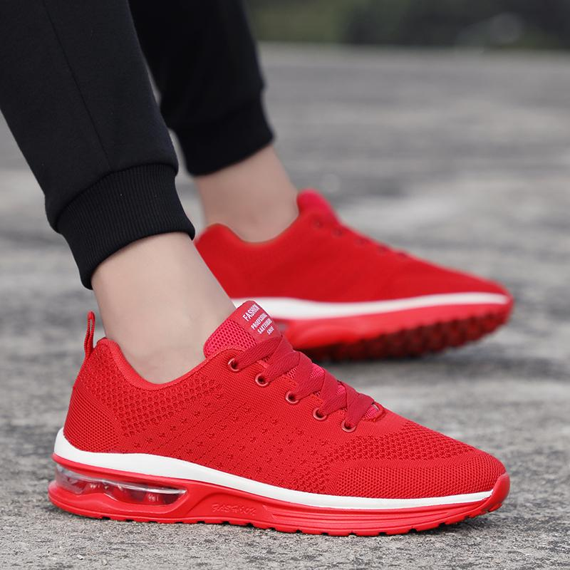 87278374313eb Compre New Trend Running Shoes Mujeres Zapatillas De Deporte Unisex Hombres  Zapatillas De Malla Transpirable Eva Athletic Sapatos Talla Grande 47 K5 A   41.5 ...
