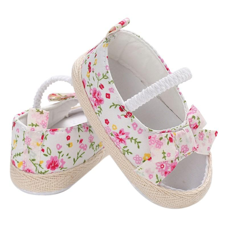2018 Summer Casual Baby Sandals Cotton Fabric Breathable Floral Print Kid  First Walkers Hot Selling Child Shoes H1 Sandals   Clogs Cheap Sandals    Clogs ...