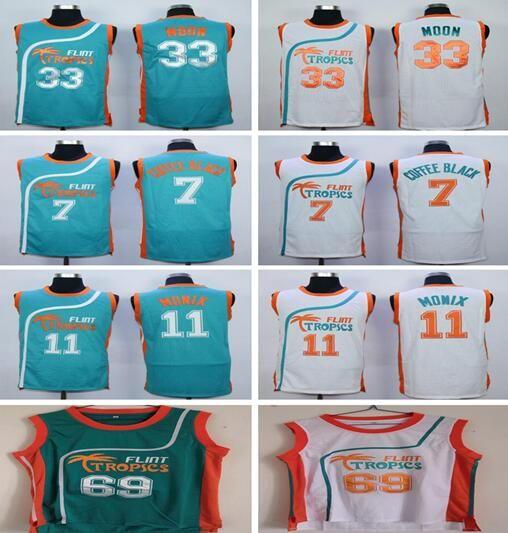 fa5e361b753 Movie 33 Jackie Moon Jersey Flint Tropics Semi Pro Basketball 7 ...
