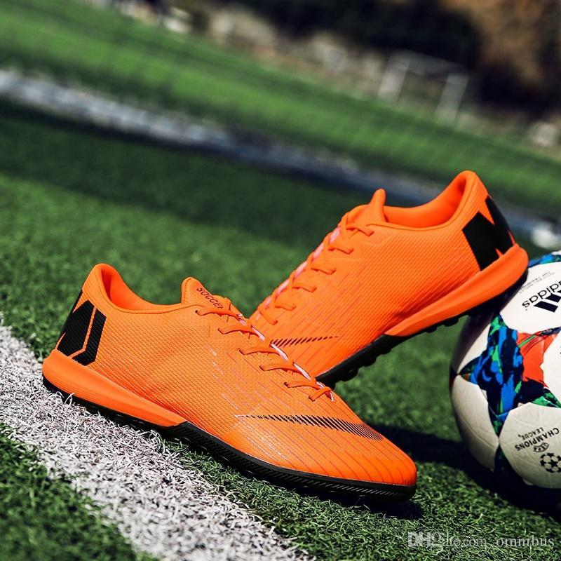 High Quality Men Soccer Shoes Football Boots Waterproof Soccer Cleats Boot  Shoes Sports Outdoor Indoor Training Outdoorsoccershoe Sports Shoes Sport  Online ... 3999d6ddd762e