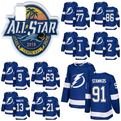 2018 Mens Tampa Bay Lightning All Stars Tyler Johnson 91 Steven ... e22af7fa0