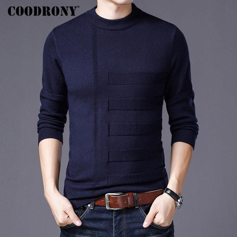 88e707642 2019 COODRONY Mens Sweaters 2018 Winter New Arrival Thick Warm ...