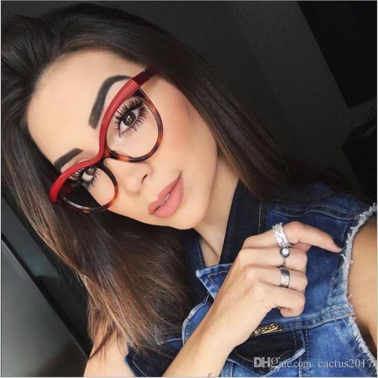 451d054e84 2019 Fashion Cat Eye Reading Eyeglasses Optical Glasses Frames 2018 New  Glasses Women Frame Ultra Light Frame Clear Glasses From Cactus2017