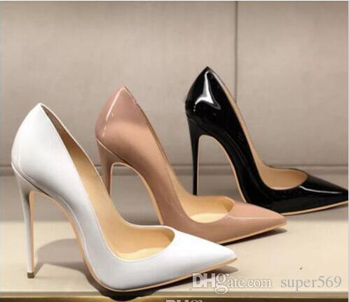 ee8310edffb6e HOT 2018 Red Pumps Patent Leather Pigalle Heels WOMEN Wedding Shoes ...