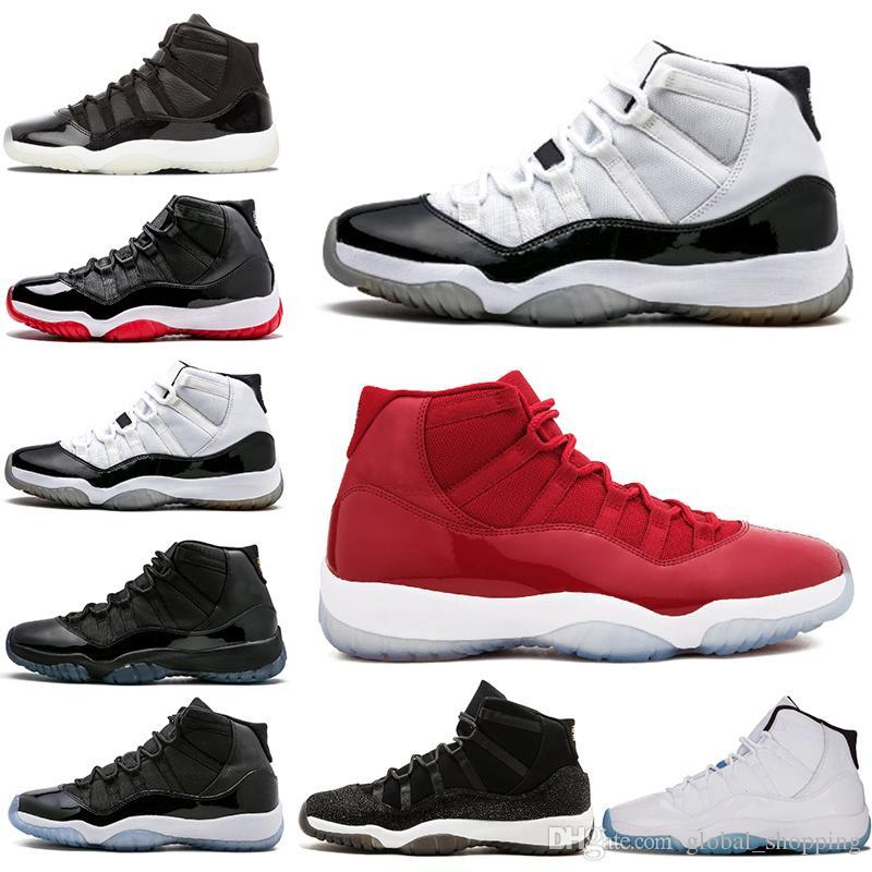 meilleur site web d9988 b2209 nike air jordan retro 23 chaussures Concord 45 chaussure de basket-ball 11s  pour hommes Bred High Win Like 96 Baskets Gamma Blue Prom Night Blackout ...