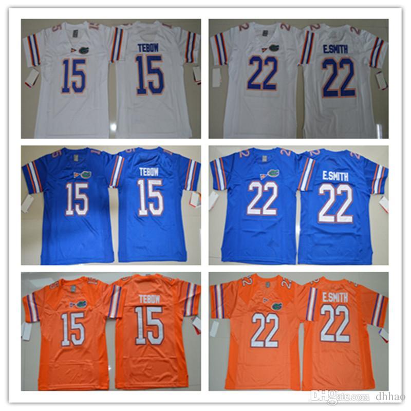 4c2f23377 High Quality College Florida Gators Jerseys NCAA 15 Tim Tebow Jersey ...