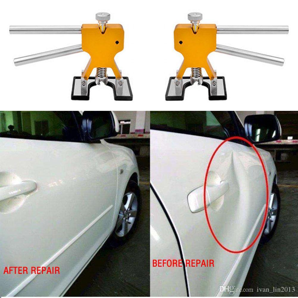 أدوات إصلاح كيت المهنية اليد السيارات Paintless دنت دنت إزالة عدة دنت بولير رافع اليد أداة مجموعة أداة