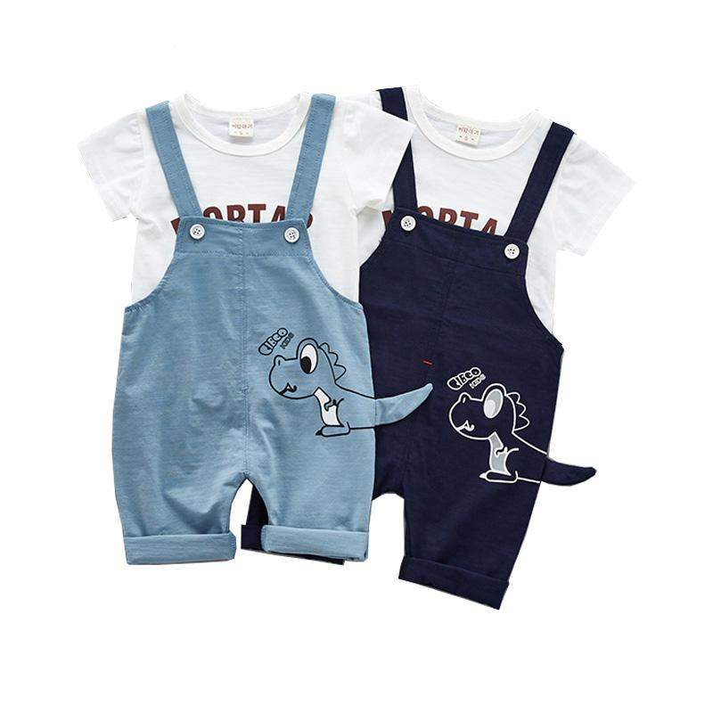 d4e98859a Summer Baby Boy Clothing Set Newborn Infant Clothing Baby Girl ...