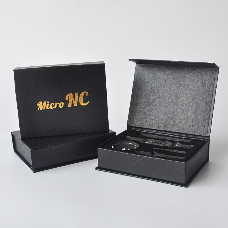Juego de 10 mm NC con kit sin hogar Tai Nail Micro NC kit de tuberías de agua recicladoras mini bongs de vidrio Envío Gratis