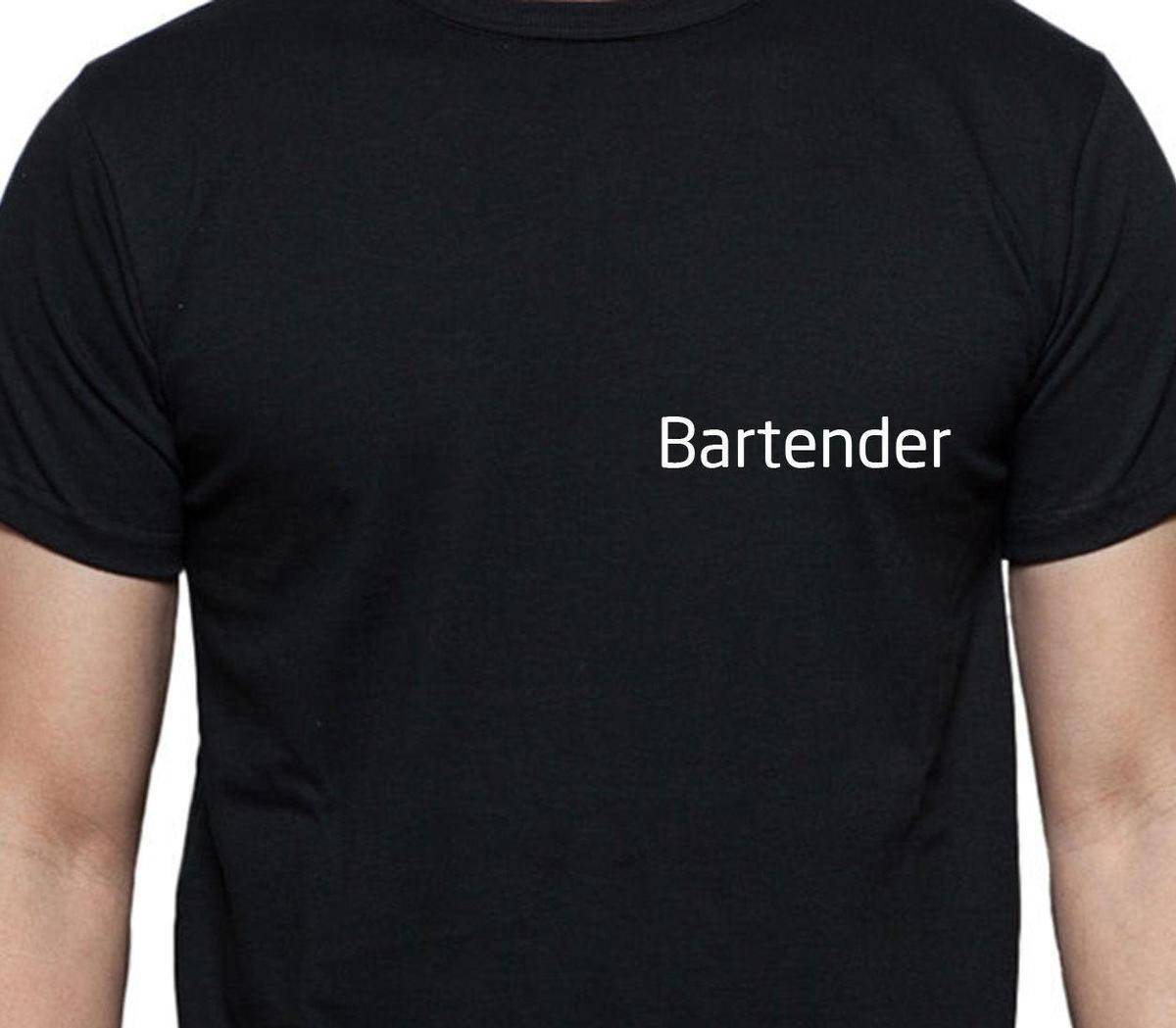 Bartender T Shirt Personalised Tee Job Work Shirt Custom T Shirt Buy